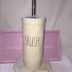 Rae Dunn •BRUSH• toilet brush holder with brush